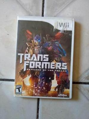 Video Juego Transformer Para Wii