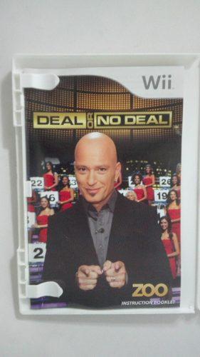 Videojuego Deal Or No Deal Para Nintendo Wii En Buen Estado