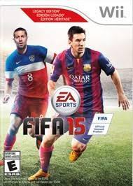 Videojuego Fifa 15 Nuevo Para Nintendo Wii Sellado