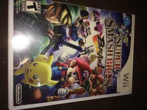 Videojuego Súper Smash Bros Para Nintendo Wii