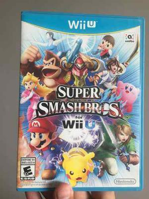 Videojuego Súper Smash Bros Wiiu Nintendo
