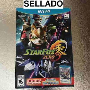 Videojuego Star Fox Zero + Star Fox Guard Para Wii U Nuevo