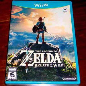 Videojuego The Legend Of Zelda Breath Of The Wild Wii U