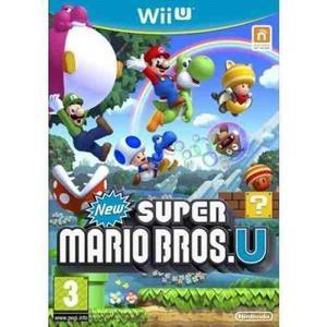 Videojuegos Super Mario Bros (wii U) De Nintendo