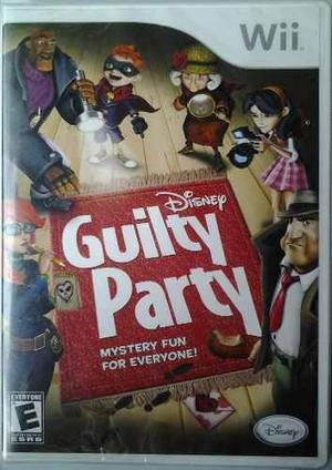 Wii Disney Guilty Party $350 Pesos - Nuevo - Mikegames