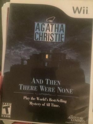 Wii Juegos And Then There Were None Agatha Christie