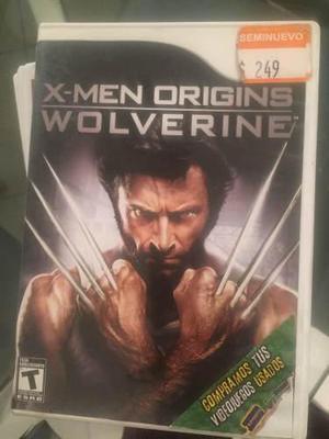 Wii Juegos X Men Origins Wolverine