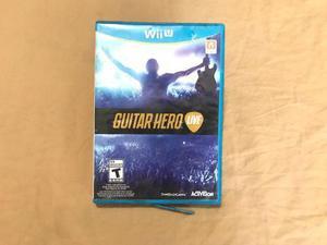 Wii U: Videojuego Guitar Hero Live