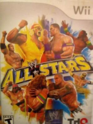 Wii W All Stars Juego We Wwe Matchups Entrega Polanco J4u1e4
