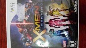 X Men Destiny Nintendo Wii Nuevos Sellado Original
