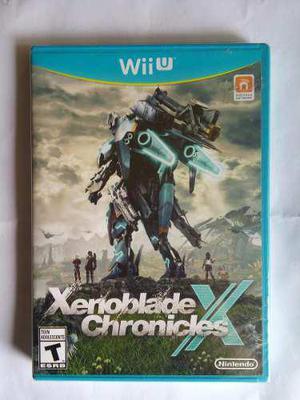 Xenoblade Chronicles X Wii U Nuevo Y Sellado Nintendo Trqs