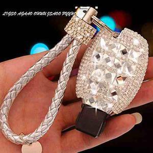 Yika Benz Diamond Key Shell Car Key Case Cover Holder Pouch