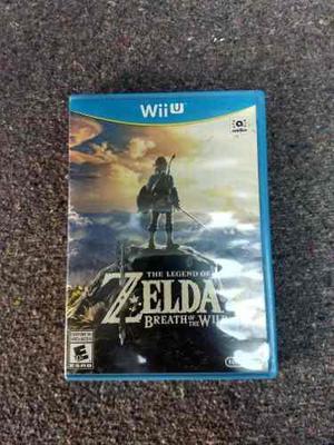Zelda Breath Of The Wild Para Wii U ¡como Nuevo!
