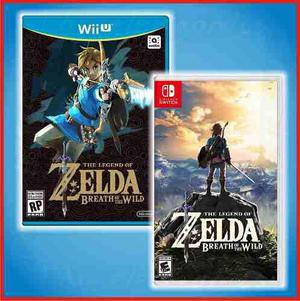 Zelda Breath Wild - Switch O Wii U | Promocion $1299