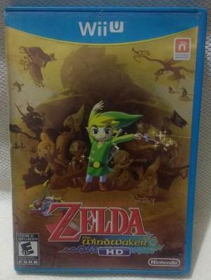 Zelda The Windwaker Hd Para Wii U Usado
