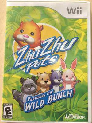 Zhuzhu Pets Feat The Wild Bunch Video Juego Para Wii