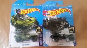 2 Hot wheels edición especial halo de xbox