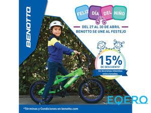 Bicicletas de niño y niña al 15% de descuento (varios