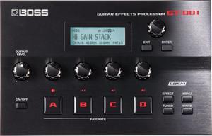 Boss Gt-001 Pedal De Efectos Para Guitarra Eléctrica