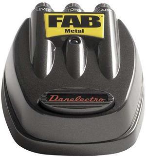 Danelectro D-3 Efectos Fab Metal Pedal