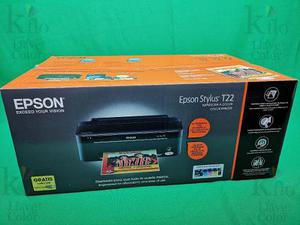 Impresora Epson Stylus T-22 Nuevas En Su Caja Original