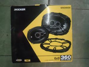 Kicker Par De Bocina 6x9 3 Vias 360 Whatts Dsc Fidelidad