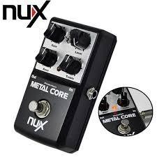 Metal Core Overdirve Nux Pedal De Efectos Para Guitarra