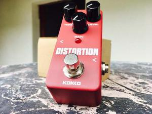 Mini Pedal Distortion Kokko Confirmar Existencia