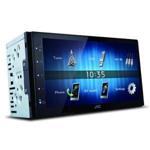 Pantalla Multimedia Doble Din Jvc Kw-m24bt Bluetooth Nw