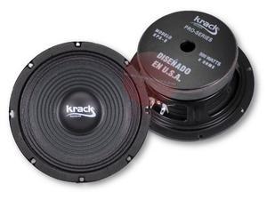 Par De Bocinas 8 Krack Audio Profesional 500w Lineales