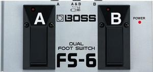 Pedal Boss Fs6 Switch Doble De Pedal Para Guitarrista