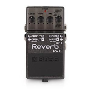 Pedal De Efectos Para Guitarra Reverb Boss Rv-6