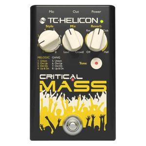 Pedal De Efectos Vocal, Tc Helicon Critical Mass