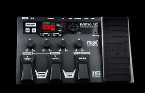 Pedalera Multiefectos Nux 55 Ef Mfx-10 Confirma Existencia !