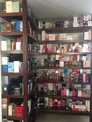 Perfumes de hombre y mujer