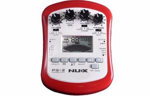 Procesador De Efectos Portable Guit Nux Pg-2 Confirma Exi !