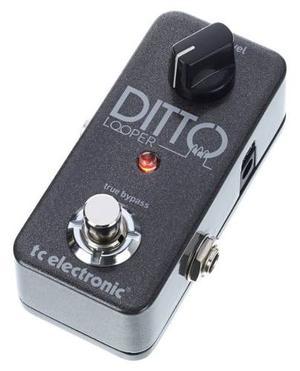 Tc Electronic Ditto Looper Pedal De Efectos Para Guitarra
