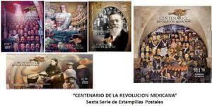 2010 Centenario De La Rvolución Mexicana 8/sellos