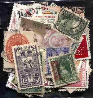 3464 Lote México 125 Sellos Usados 1897-1987