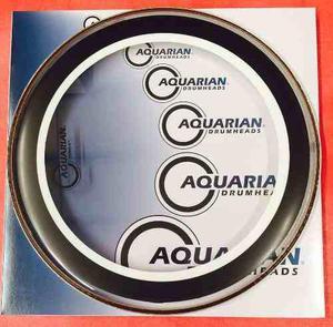 Aquarian Studio-x 10 Parche P/ Bateria Envio Gratis!