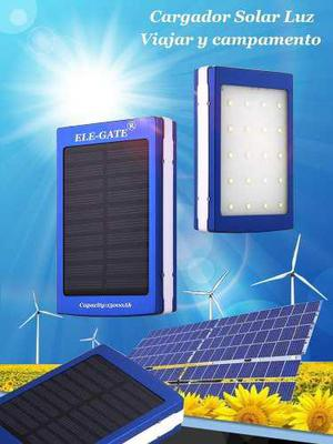 Bateria Cargador Power Bank Solar 15000mh Mayoreo Ele-gate