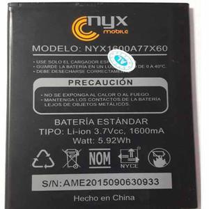 Bateria Pila Nyx Orbis 1600 Mah Nueva Nyx1600a77x60 Calidad