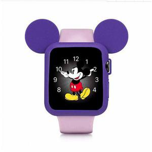 Bumper Protector De Mickey Mouse Para Apple Watch 42mm/38mm