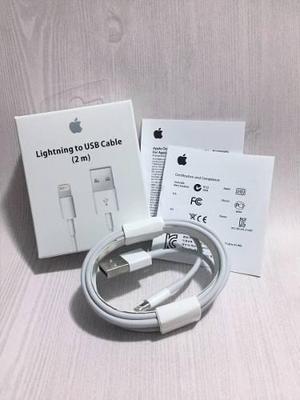 Cable Cargador Lightning Iphone 2 Metros Original 5 6 7 8 X