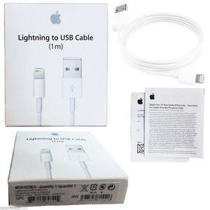 Cable Iphone Lightning Apple 1 Metro Original 5 6 7 8 X