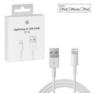 Cable Lightning Original Apple 2m Iphone 8 7 6 Iphone X Ipad