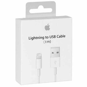 Cable Lightning Original Apple Iphone Ipad Ipod 1m
