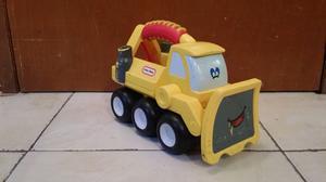 Camioncito de juguete escabadora little tikes juguete para