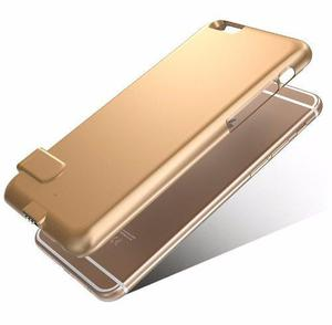 Cargador Funda Batería Externa Iphone 6 Y 7 Color Dorado
