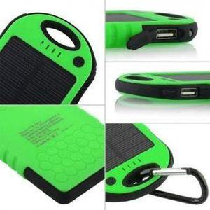 Cargador Solar Power Bank 12000 Mah Bateria Recargable Led